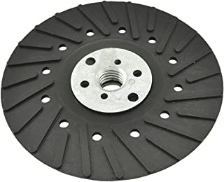 IVY Classic 42384 7-Inch Turbo Backing Pad with 5/8-Inch - 11 Thread Locking Nut, 1/Card