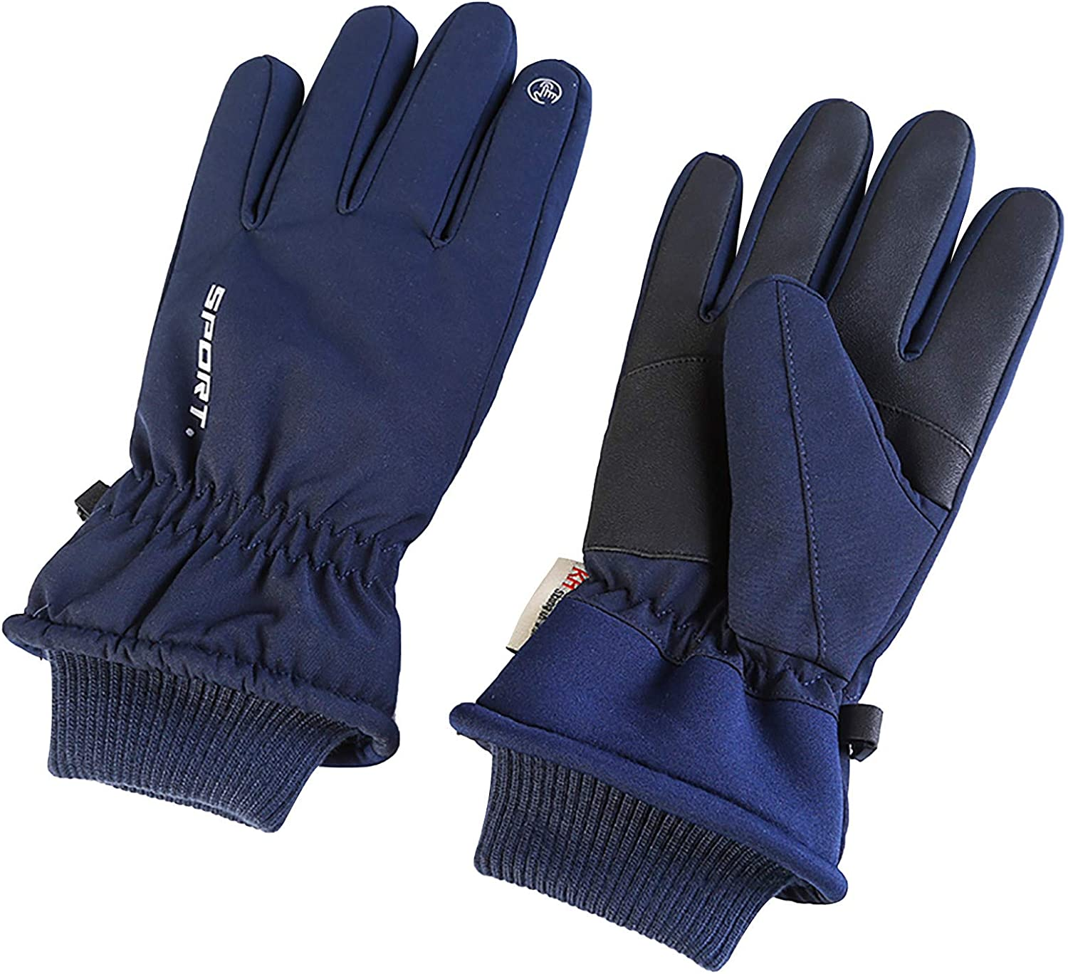 Unisex Winter Warm Waterproof Gloves Outdoor Cycling Zipper Touch-Screen Gloves Fashion/Prom/Warm/Bicycle Gloves