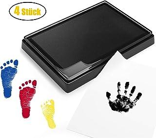 Schwarzer Stempelkissen Stempel Fingerabdruck Handwerk Ungiftig Baby Safe