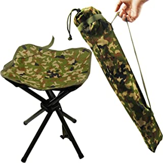 Folding Camping Stool Portable Camp Travel Chair Light Weight Foldable Seat for Fishing Hunting Hiking Travelling Mountaineering Picnic Outdoor Stool