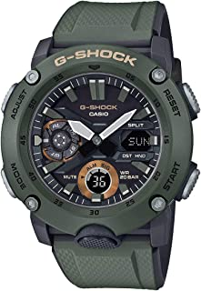 Casio Analog-Digital Brown Dial Men's Watch-GA-2000-3ADR (G952)