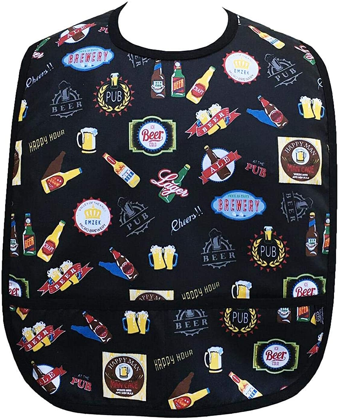 Adult Clothing Genuine Protector Bib Front Beer Pockets with Selling and selling