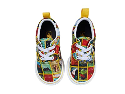 Vans Kids National Geographic Era Elastic Lace (Infant/Toddler) ((National Geographic) Multi Covers/True) Kids Shoes