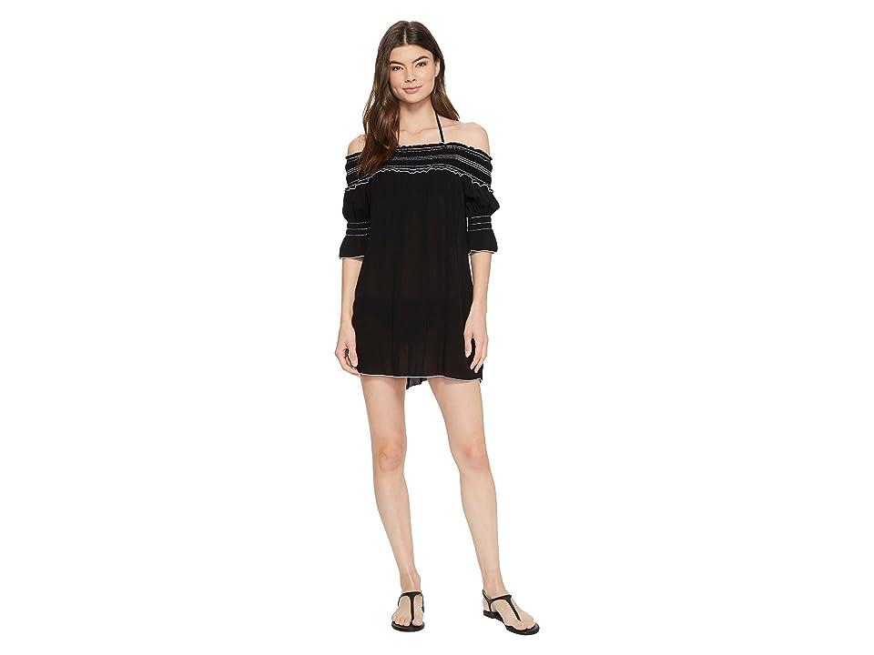 BECCA by Rebecca Virtue Nightingale Dress Cover-Up (Black) Women