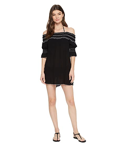 Nightingale Dress Cover-Up, Black