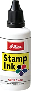 Shiny SHI-40600 Self-Inking Stamp Refill Ink by 2oz, Black Ink