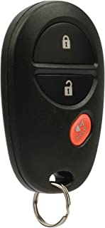 Key Fob Keyless Entry Remote fits Toyota Tacoma Tundra Sienna Sequoia Highlander (GQ43VT20T 3-Btn)