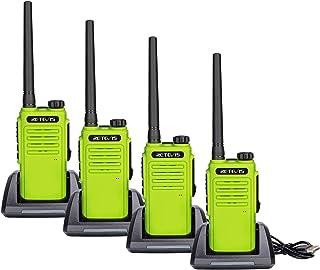 Retevis RT647 Walkie Talkie, IP67 Impermeable, Largo Alcance, Radios Bidireccionales Recargables Portátiles, Radios VOX Ma...