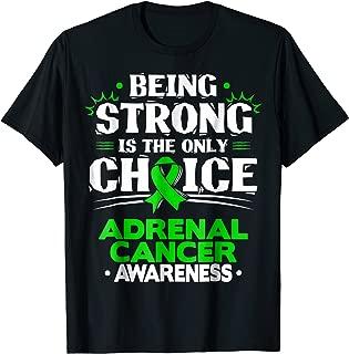 Adrenal Cancer TShirt - Adrenocortical Carcinoma Tee