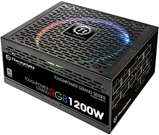 Thermaltake Toughpower Grand 80+ Platinum - Fuente de alimentación (1200 W) Color Negro