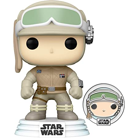 Funko Pop! Star Wars: Hoth Luke Skywalker with Pin, Amazon Exclusive