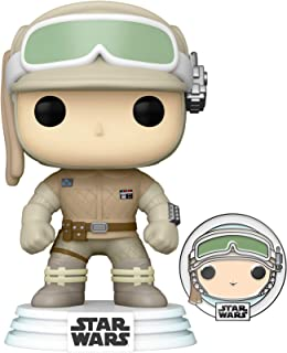 Funko Pop! Star Wars: Hoth Luke Skywalker con Pin