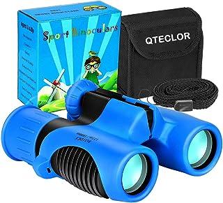 Compact Mini Binoculars for Kids – 8x21 Zoom Kids Binoculars Toy Gift Shock Proof for 3 4 5 6 7 8 9 10 11 12 13 Years Old ...
