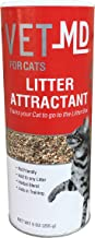 VetMD FFP9556ST Litter Box Attractant Powder to Aid in Training, 9 Ounces | Training Aid For Cats and Kittens
