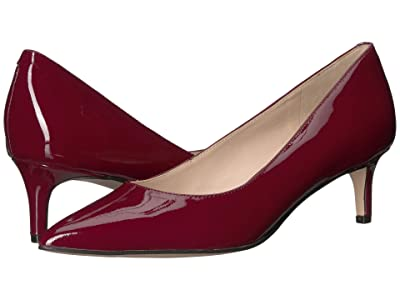 Nine West Fina Pump (Dark Red) Women