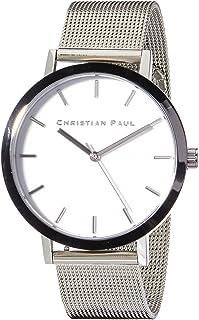 Christian Paul Unisex-Adult RWS4320 Year-Round Analog Quartz Silver Watch