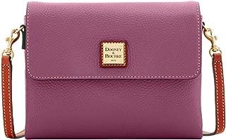 Dooney & Bourke Pebble Grain Hunter Crossbody Bag, Dark Mauve