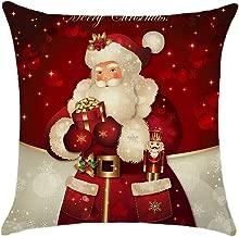 Luxsea Cushions Case Linen Seat Cushion Cover for Sofa Home Decor Pillowcase Chirstmas Decorative