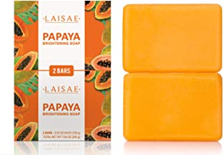 Papaya Brightening Soap – for Exfoliates & Cleanses Body-Facial – Reduces..