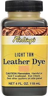 Fiebing Leather Dye 4 Oz Color - (Light Tan)