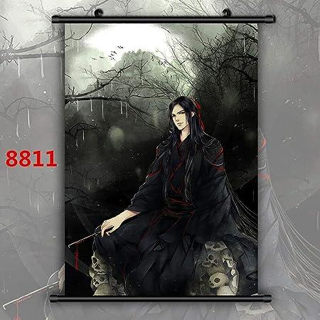 Grandmaster of Demonic Cultivation  Wallscroll Poster Kunstdrucke Bider Drucke