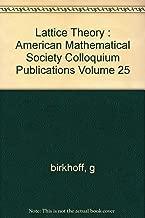 lattice theory birkhoff