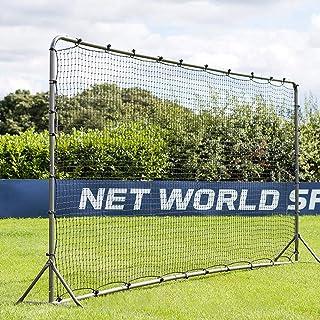 AMAIRS återfjädrande nät, stor baseball softball fotboll tonhöjd träning återstudsar nät utomhus bakgård övning PE block n...