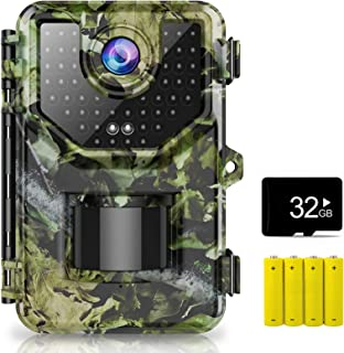 1520P 20MP Trail Camera, Hunting Camera with...