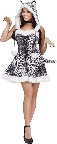 autentico en linea Fun World Costumes Disfraz Disfraz Disfraz Sexy Leopardo de Las Nieves mujer S M  nuevo sádico