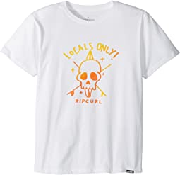 Rip Curl Kids - Locals Only Premium Tee (Big Kids)