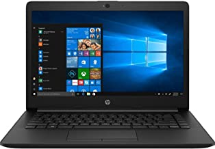 HP 14 Pentium Gold 14-inch Thin and Light Laptop (4GB/256GB SSD/Windows 10 Home/Jet Black/1.47 kg), 14q-cs0018TU