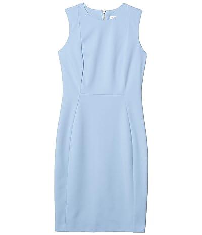 Calvin Klein Solid Sheath Dress (Serene) Women