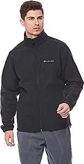 Columbia Hot DotsTM III Full Zip Fleece For Men, Size XXL (Black)