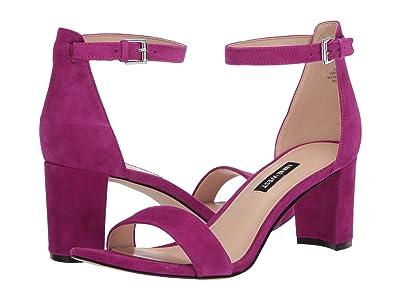 Nine West Pruce Block Heeled Sandal (Flanel) Women