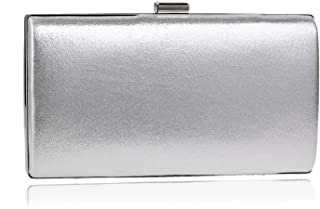 Clutch Handbag Crossbody Bag Shoulder Bags Woman Fashion Banquet Small Square Package Evening Dress Shining Pocket Wallet Gold Silver Party Prom Party (22×5×11cm)
