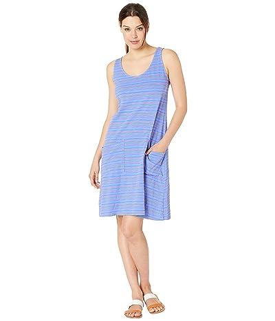 Fresh Produce Promenade Stripe Drape Dress (Peri Blue) Women