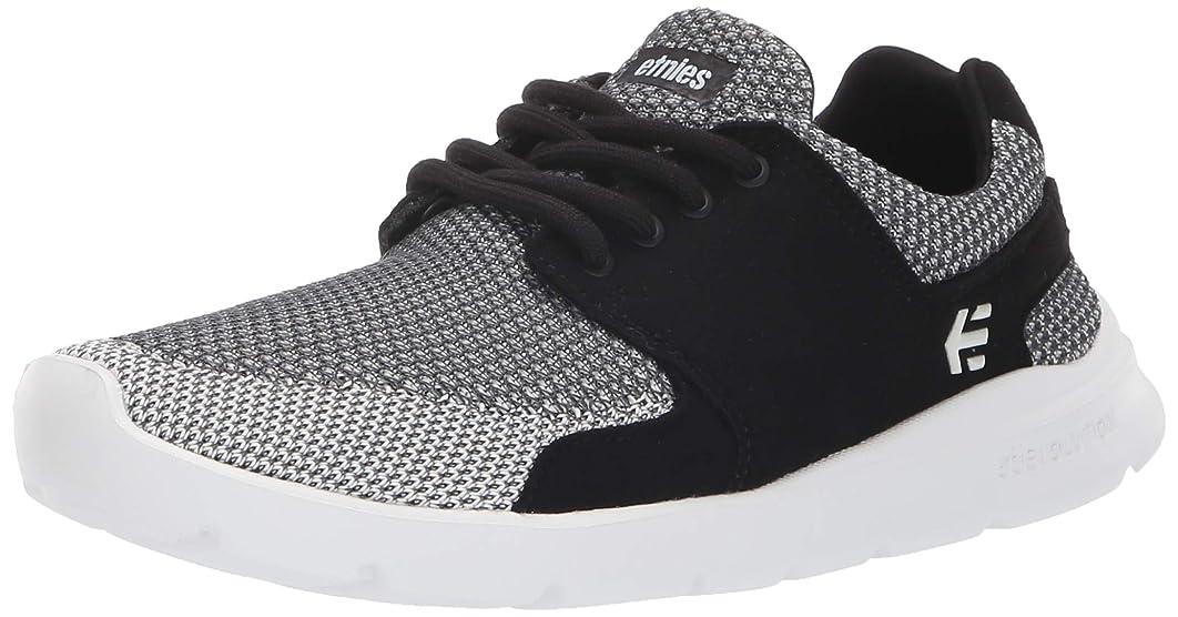 桃化学センチメートル(3 UK, Black/Grey/White) - Etnies Women Sneakers Scout