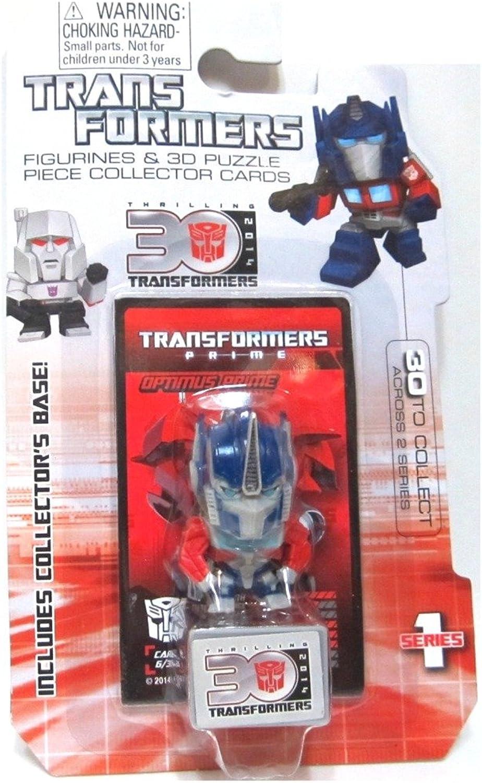 Optimus Prime Transformers Prime 30th Anniversary 1.5 Inch Series 1 Mini Figure by Transformers