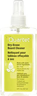 Quartet Dry Erase Board Cleaner, Whiteboard Cleaning Spray, 8 oz. Bottle (920070E)