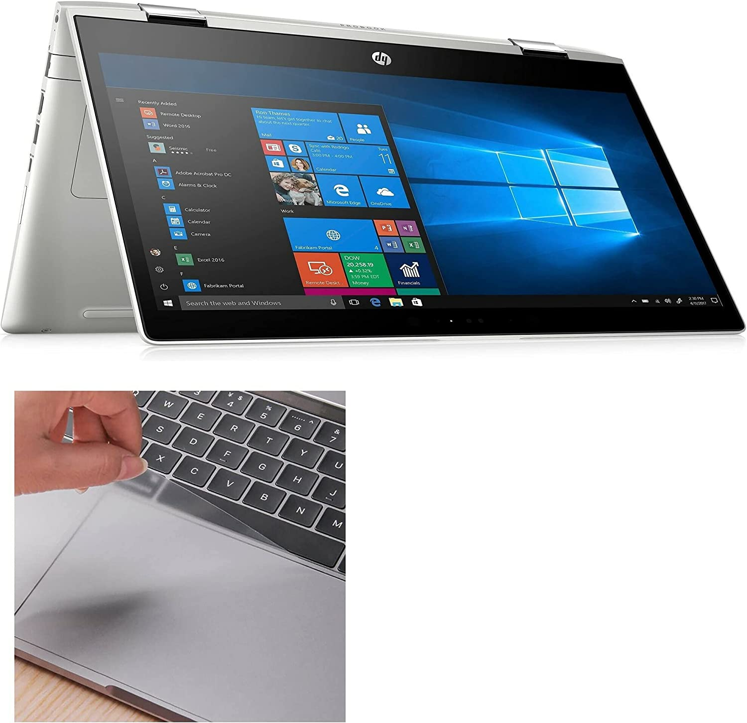 Touchpad Protector for HP ProBook mart Protecto x360 440 low-pricing G1