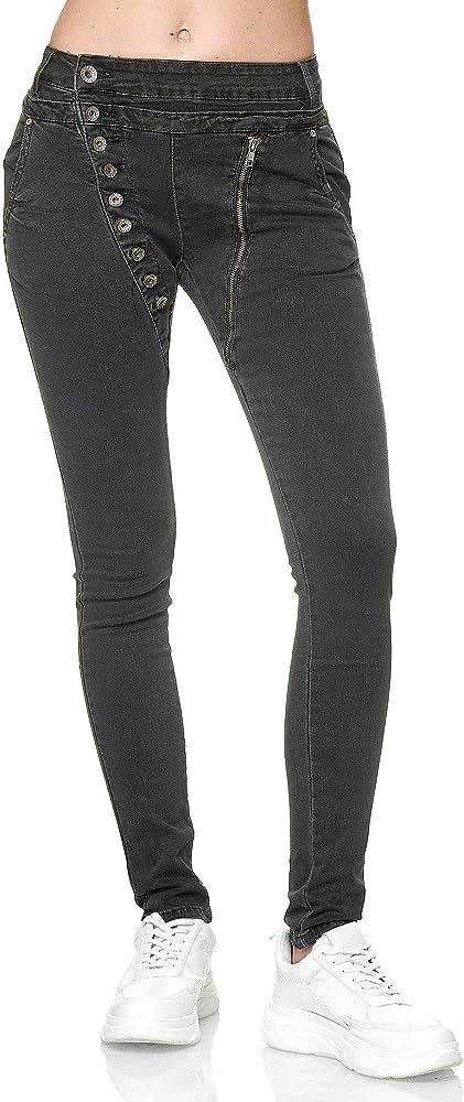 Elara jeans per donna 98% cotone 2% elastan C613K-15/F15L