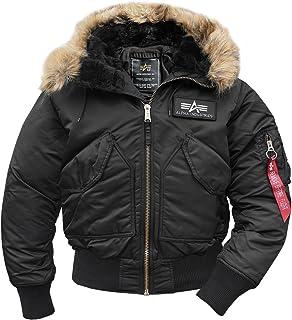 Alpha Industries CWU Hooded Flight Jacket - black - Large