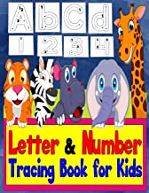 Letter Tracing Books For Kids Ages 3-5: Tracing Letters And Numbers For Preschool (Large Print)