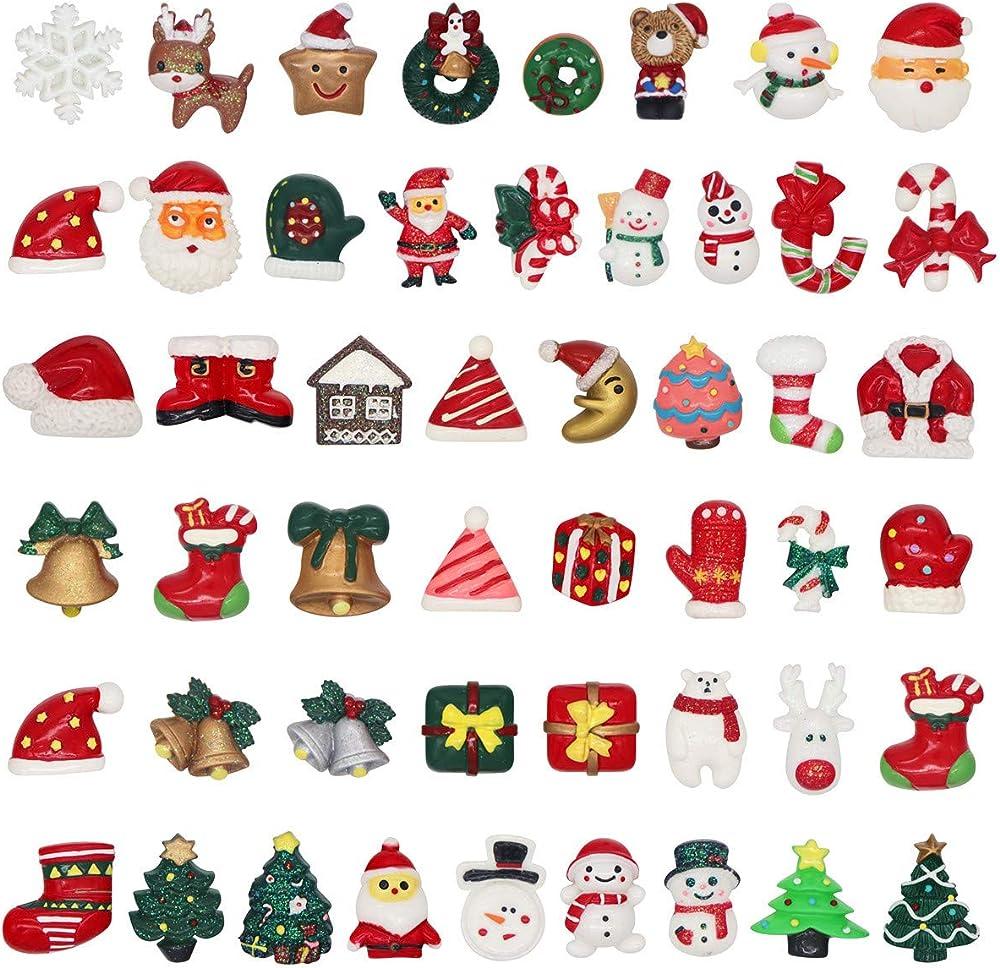 annhao 50 pezzi di mini decorazione natalizia annhao annhao