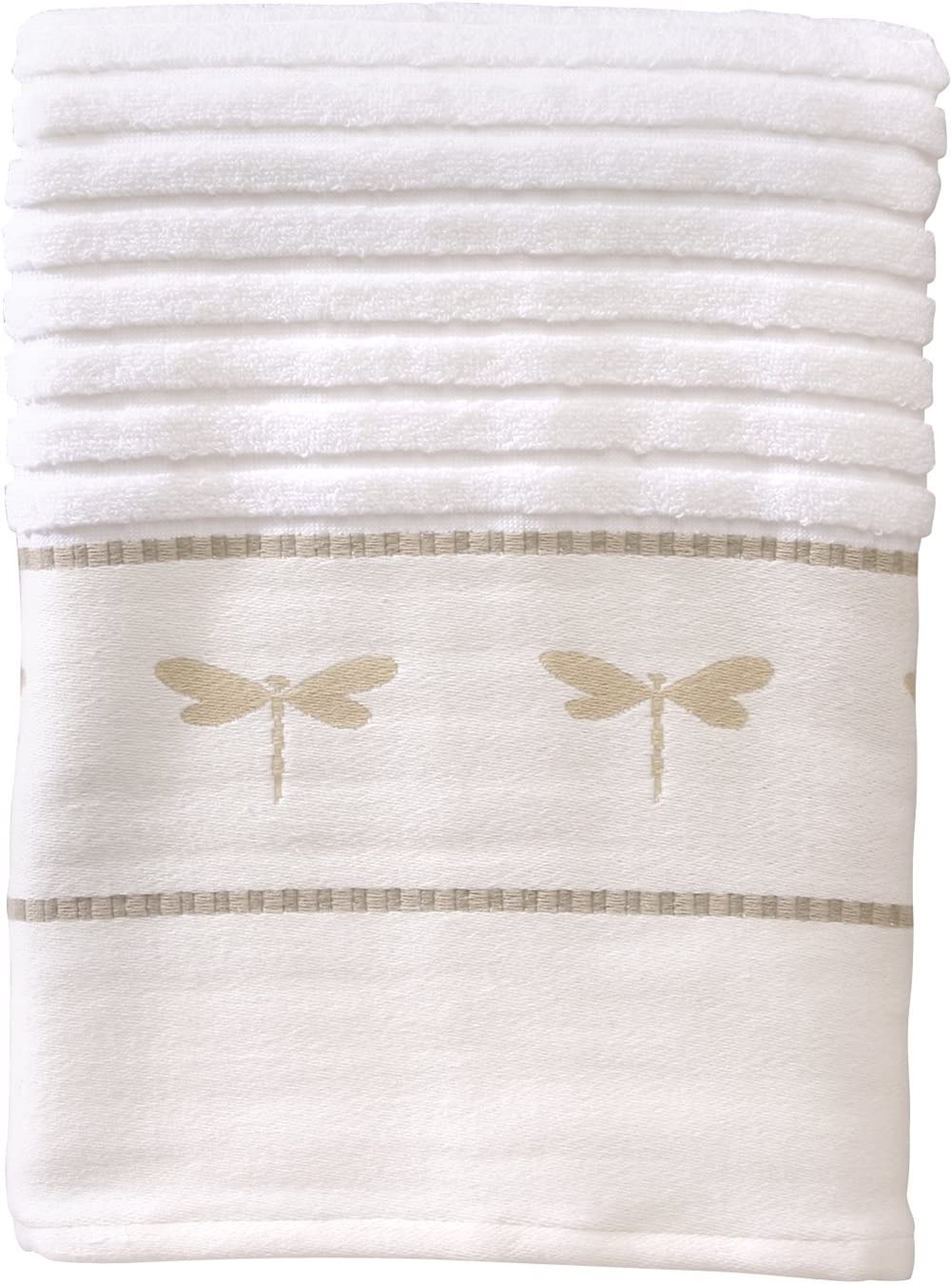 Creative Bath Products Dragonfly Excellence Collection Beige W Towel Max 45% OFF