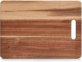 Zeller, snijplank, acacia, hout, natuur, 35 x 25 x 1 cm