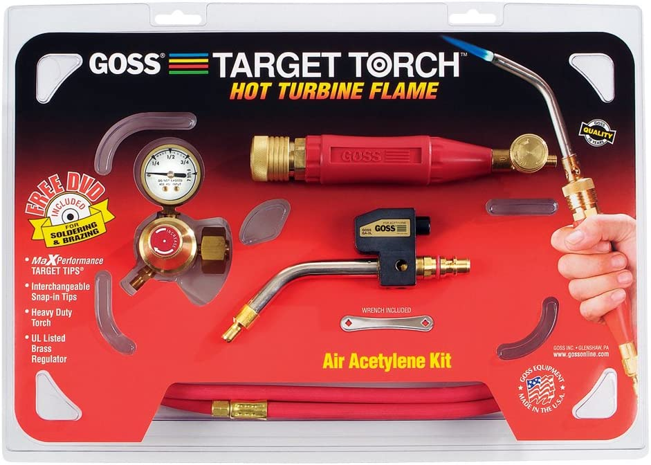 Goss KX-10B Soldering Brazing Torch Topics on TV Acetylene
