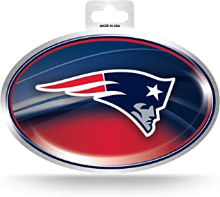 NFL New England Patriots Metallic Team Logo Aufkleber