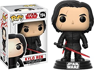 Kylo Ren: Star Wars - The Last Jedi x Funko POP! Vinyl Figure & 1 POP! Compatible PET Plastic Graphical Protector Bundle [#194 / 14753 - B]