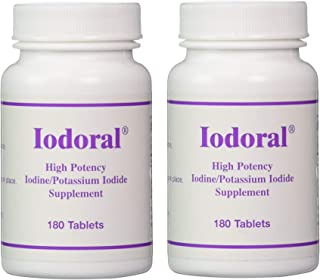 Optimox Iodoral 180 Tablets X 2